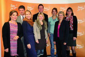Erfolgsteam 2012 - gesponsert durch die Wirtschaftsförderung Bonn