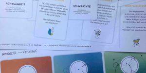 Grafikentwürfe Kartenspiel Wandelwill-ICH?!